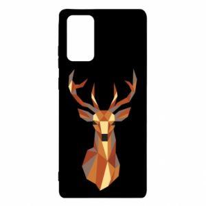 Etui na Samsung Note 20 Deer geometry in color