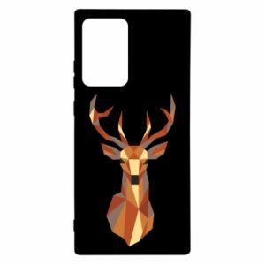 Etui na Samsung Note 20 Ultra Deer geometry in color