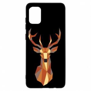 Etui na Samsung A31 Deer geometry in color