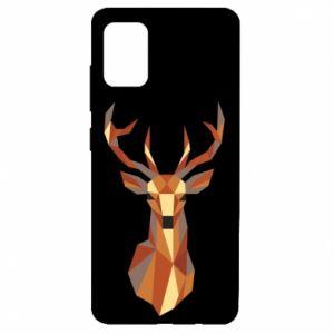 Etui na Samsung A51 Deer geometry in color