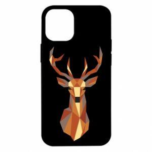 Etui na iPhone 12 Mini Deer geometry in color