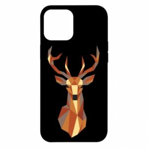 Etui na iPhone 12 Pro Max Deer geometry in color
