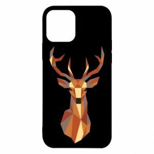 Etui na iPhone 12/12 Pro Deer geometry in color
