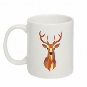 Kubek 330ml Deer geometry in color
