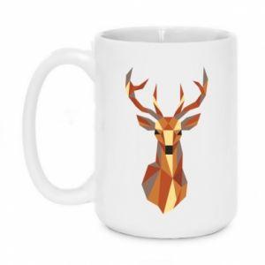 Kubek 450ml Deer geometry in color