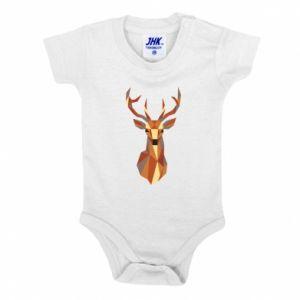 Body dla dzieci Deer geometry in color