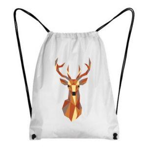 Plecak-worek Deer geometry in color