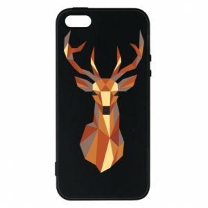 Etui na iPhone 5/5S/SE Deer geometry in color