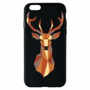 Etui na iPhone 6/6S Deer geometry in color