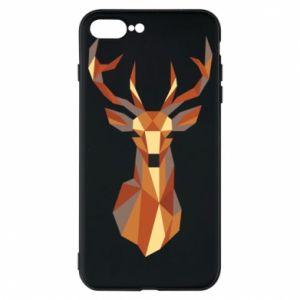 Etui na iPhone 7 Plus Deer geometry in color