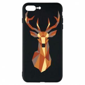 Etui na iPhone 8 Plus Deer geometry in color