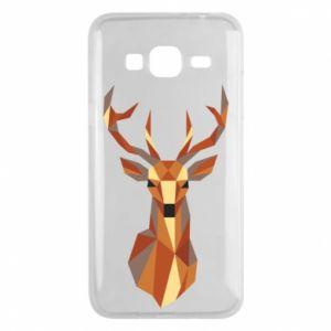 Etui na Samsung J3 2016 Deer geometry in color