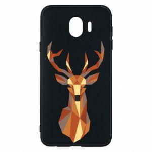 Etui na Samsung J4 Deer geometry in color