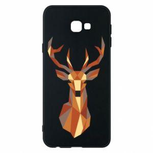 Etui na Samsung J4 Plus 2018 Deer geometry in color