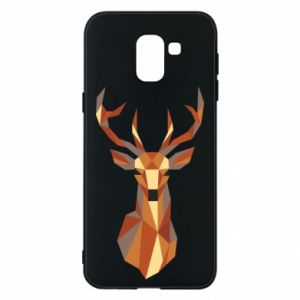 Etui na Samsung J6 Deer geometry in color