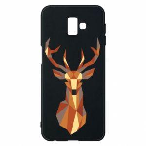 Etui na Samsung J6 Plus 2018 Deer geometry in color