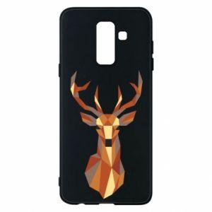 Etui na Samsung A6+ 2018 Deer geometry in color