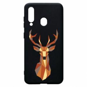Etui na Samsung A60 Deer geometry in color