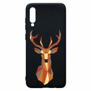Etui na Samsung A70 Deer geometry in color