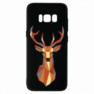 Etui na Samsung S8 Deer geometry in color