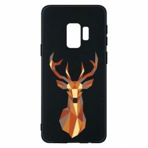 Etui na Samsung S9 Deer geometry in color