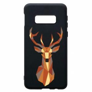 Etui na Samsung S10e Deer geometry in color