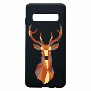 Etui na Samsung S10 Deer geometry in color