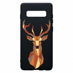 Etui na Samsung S10+ Deer geometry in color
