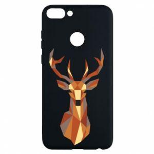 Etui na Huawei P Smart Deer geometry in color