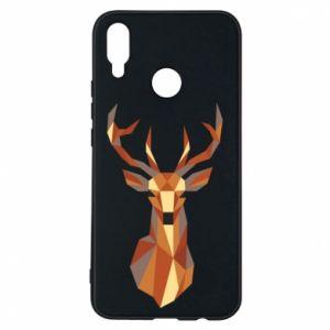 Etui na Huawei P Smart Plus Deer geometry in color