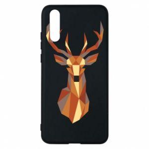 Etui na Huawei P20 Deer geometry in color