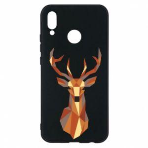 Etui na Huawei P20 Lite Deer geometry in color