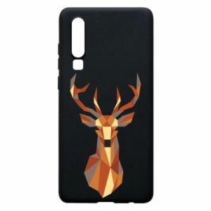 Etui na Huawei P30 Deer geometry in color