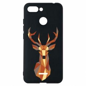 Etui na Xiaomi Redmi 6 Deer geometry in color