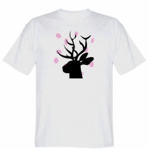 T-shirt Deer in hearts - PrintSalon