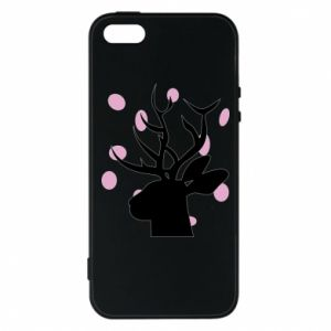 Etui na iPhone 5/5S/SE Deer in hearts