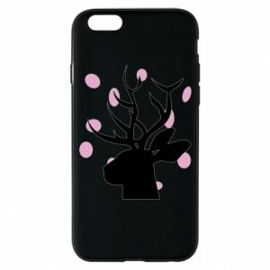 Etui na iPhone 6/6S Deer in hearts
