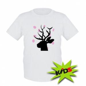 Dziecięcy T-shirt Deer in hearts