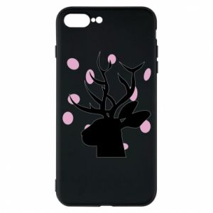 Etui na iPhone 7 Plus Deer in hearts