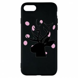 Etui na iPhone 8 Deer in hearts