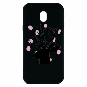 Etui na Samsung J3 2017 Deer in hearts