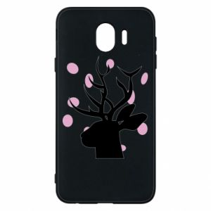 Etui na Samsung J4 Deer in hearts