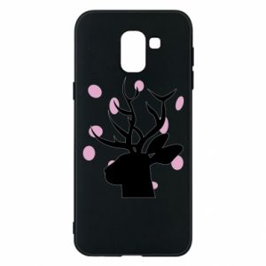 Etui na Samsung J6 Deer in hearts
