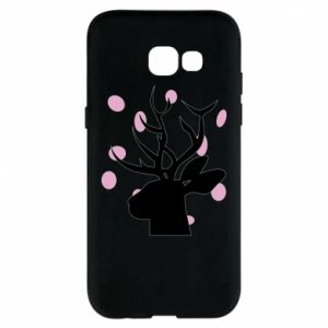 Etui na Samsung A5 2017 Deer in hearts