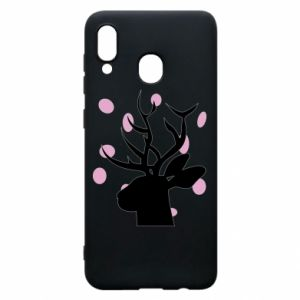 Etui na Samsung A20 Deer in hearts