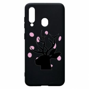 Etui na Samsung A60 Deer in hearts
