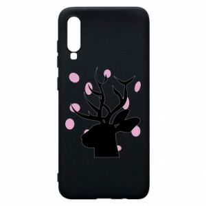 Etui na Samsung A70 Deer in hearts