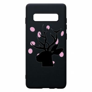 Etui na Samsung S10+ Deer in hearts