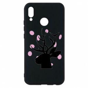 Phone case for Huawei P20 Lite Deer in hearts - PrintSalon