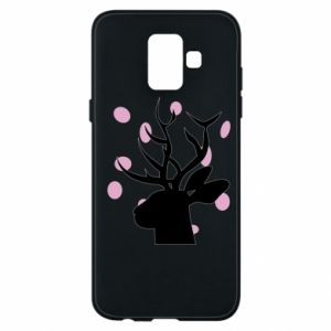 Etui na Samsung A6 2018 Deer in hearts